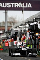 Race, Rubens Barrichello, Friday Practice, Australian Grand Prix, Melbourne, Australia