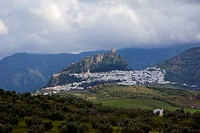 Photograph of the landscape of Andalusia Spain