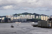 Hong Kong Cityscape with Victoria Harbor, Chine