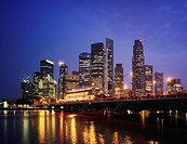Cityscape of Singapore, Republic of Singapore