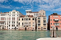 Palace over Grand canal, Venice, Italy
