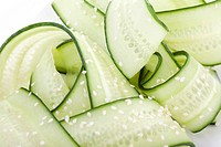 Japanese Cucumber Salad Close up