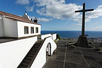Our Lady of Peace chapel Nossa Senhora da Paz, in Vila Franca do Campo  Sao Miguel island, Azores islands, Portugal