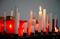 Votive wax candles
