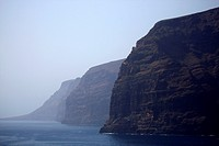 Spain, Canary islands, Tenerife, cliffs of Los Gigantes