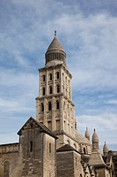 France, Aquitaine Region, Dordogne Department, Perigueux, tower of the Cathedrale St-Front cathedral