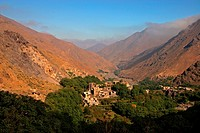 Berber village of Imlal, Atlas Mountains, Morocco