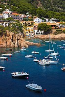 Port d´Esclanya Beach, Begur, Baix Empordá, Costa Brava, Girona Province, Catalonia, Spain.