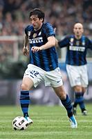 cesena 30 _04_2011, Football Serie A, football match cesena_inter, diego alberto milito