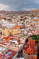 San Diego church, Guanajuato city listed as World Heritage by UNESCO, Mexico