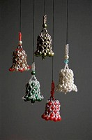 Christmas bells hanging