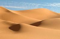 Sand dunes in a desert, Erg Awbari, Fezzan, Libya