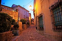 Spain, Catalonia, Costa Brava, Tossa de Mar, old town