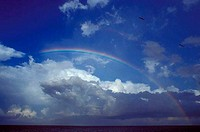 Rainbow over the sea, Gulf Of Mexico, Destin, Florida, USA