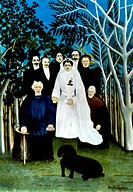 ROUSSEAU: WEDDING, 1904-05.The Wedding. Oil on canvas by Henri Rousseau, 1904-05.