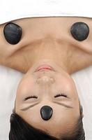 Woman getting lastone therapy (thumbnail)