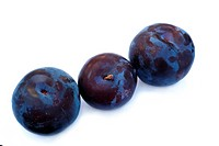 Fresh ripe plum