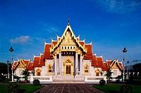 Marble Temple Bangkok Thailand