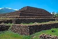 Guanche pyramid, Güímar, Tenerife, Canary Islands, Spain