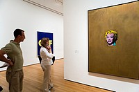 MoMA Museum of Modern Art Andy Warhol, Marilyn Monroe,New York City, USA