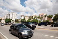 Cars in Coral Gables Florida, USA