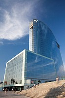 Hotel W also known as Hotel Vela, Barcelona, Spain