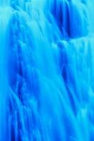 Low angle view of a waterfall, Narada Falls, Mt Rainier National Park, Washington State, USA