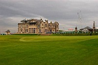 Golf course, St Andrews Old Course, The Royal and Ancient Golf Club, St. Andrews, Fife, Scotland