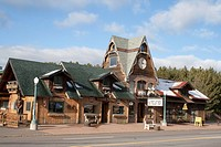 Friendly Sawmill Saloon and Mooselips Java Joint located in Seeley 10 miles from Hayward on Hiway 63  Hayward Wisconsin WI USA