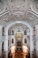 Interiors of a church, The Court Chapel, Munich Residenz, Munich, Bavaria, Germany