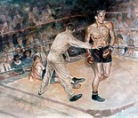 Boxers Lance Richbourg b.1938 American
