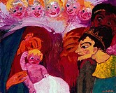 Adoration of the Magi by Emil Nolde, 1867_1956