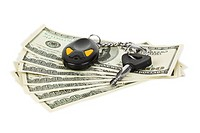 Car keys and money