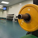 Weights in a Weight Room