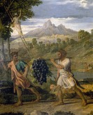 POUSSIN: AUTUMN, 1662-63.The Autumn. Oil on canvas, 1662-63, by Nicholas Poussin.