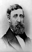 HENRY DAVID THOREAU/n(1817-1862). American writer. Photographed in August 1861.