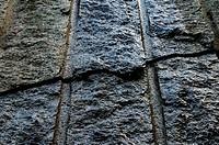 Riss , granite