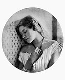 ELLEN TERRY (1847-1928).Dame Ellen Alicia Terry. English stage actress. Photographed at the age of 16 by Julia Margaret Cameron.