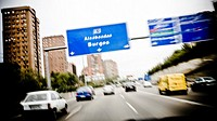 M-30 motorway, Madrid, Spain