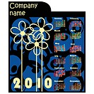 Promotional calendar for 2010