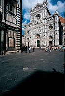 View of Santa Maria del Fiore, by Brunelleschi Filippo, Arnolfo di Cambio, Giotto, Unknow,
