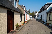 AVOCH ROSS AND CROMARTY Black Isle fishing village cottage houses lane