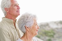 Close-up of a senior couple at a balcony (thumbnail)