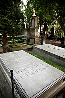 Powazki Cemetery, where lie the remains of the Chopin´s parents  Warsaw, Mazovia, Poland, Europe