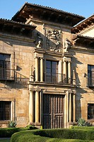 Palace of the Dukes of Lazcano, Lazkao, Lazcano, Gipuzkoa, Guipuzcoa, Basque Country, Spain