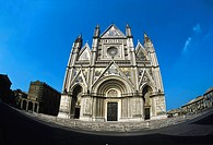 Italy,Umbria,Orvieto, Cathedral, west front