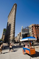 Flatiron Building, Fifth Avenue, Manhattan, New York, USA.