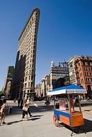 Flatiron Building, Fifth Avenue, Manhattan, New York, USA.