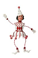 White Christmas doll decoration