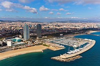 Port Olimpic  Barcelona, Spain
